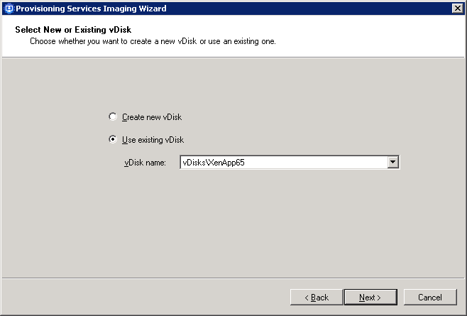 How to create a Citrix XenApp vDisk_008