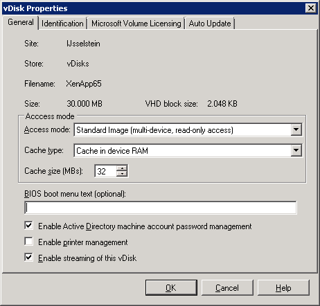 How to create a Citrix XenApp vDisk_026
