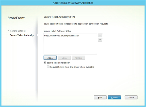 Configure Citrix NetScaler 10 5 including Gateway and Citrix