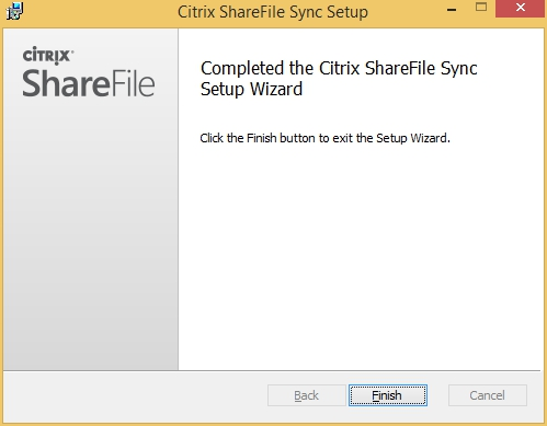 Citrx ShareFile Clients on XenApp - XenDesktop 003