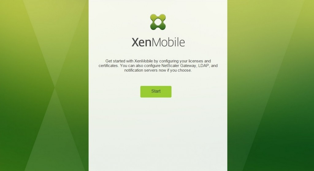 How to setup Citrix XenMobile 10 - 014