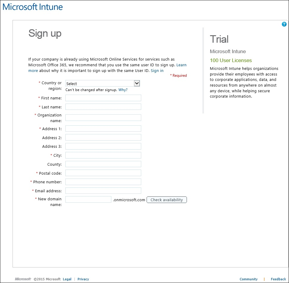 How to setup Microsoft Intune 001