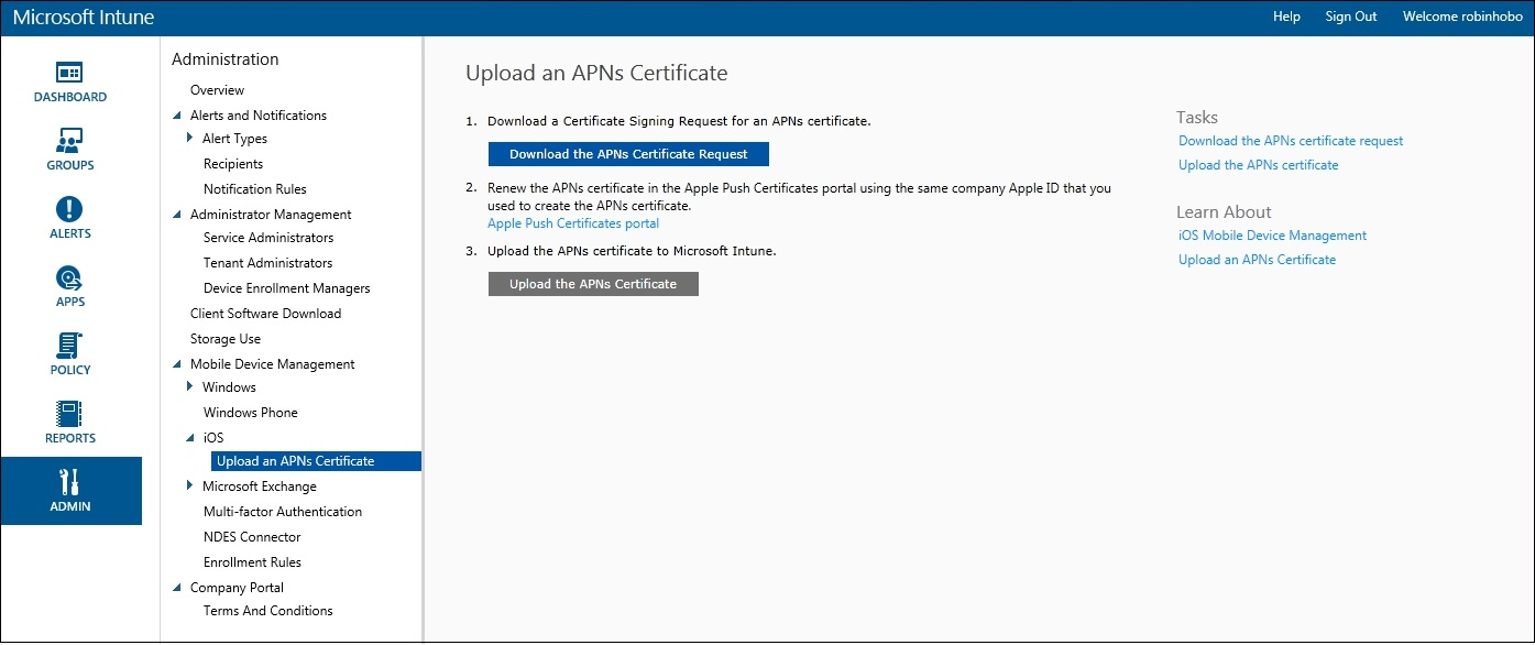 How to setup Microsoft Intune 023