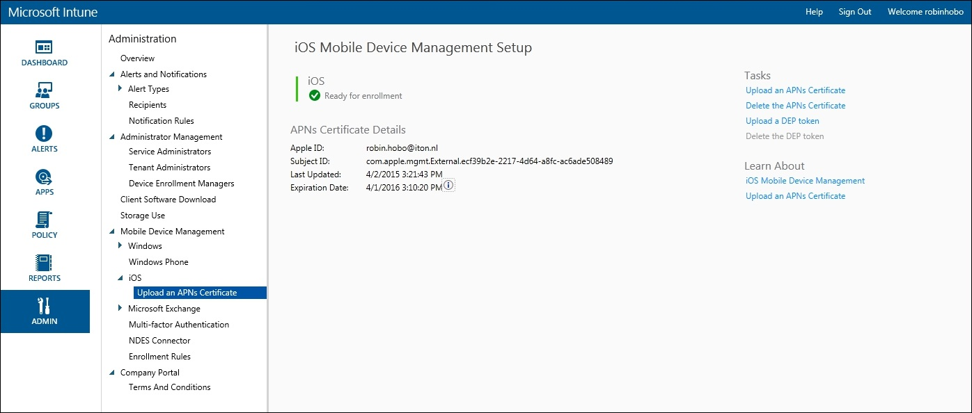 How to setup Microsoft Intune 025