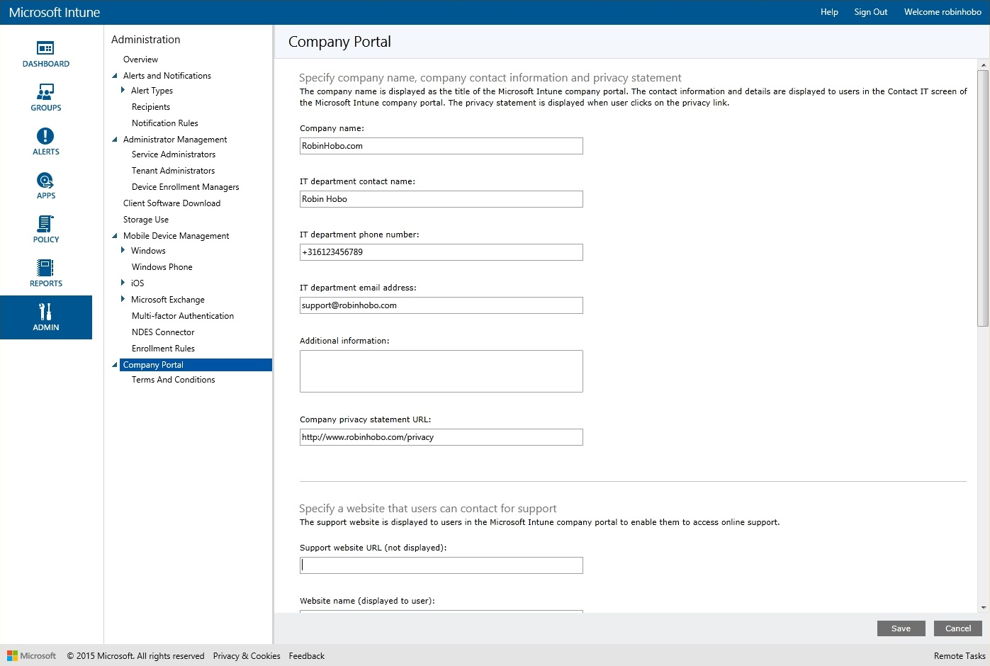 How to setup Microsoft Intune 026
