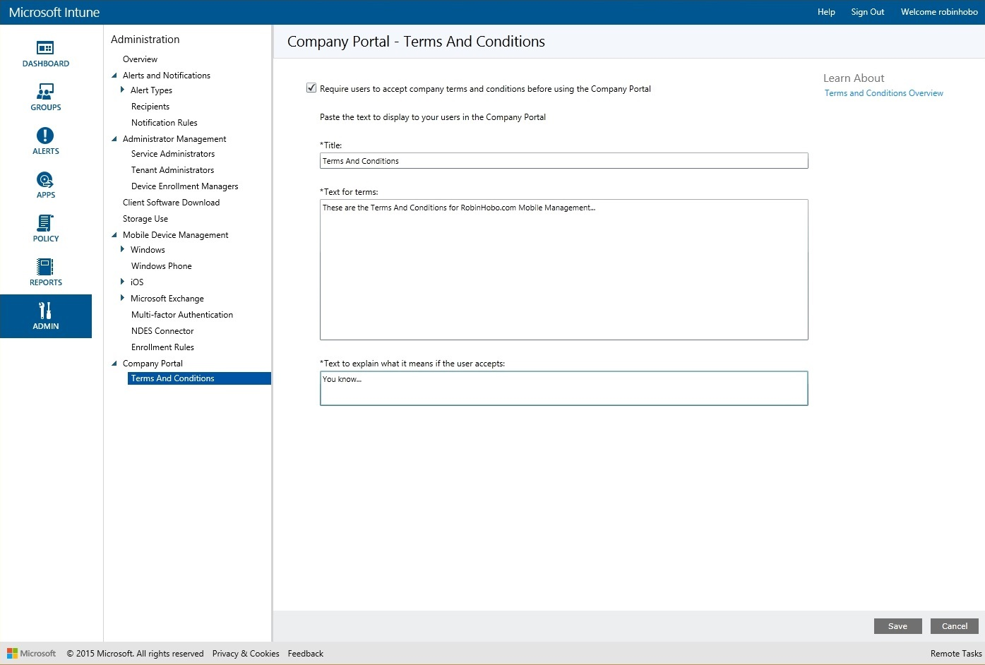 How to setup Microsoft Intune 028