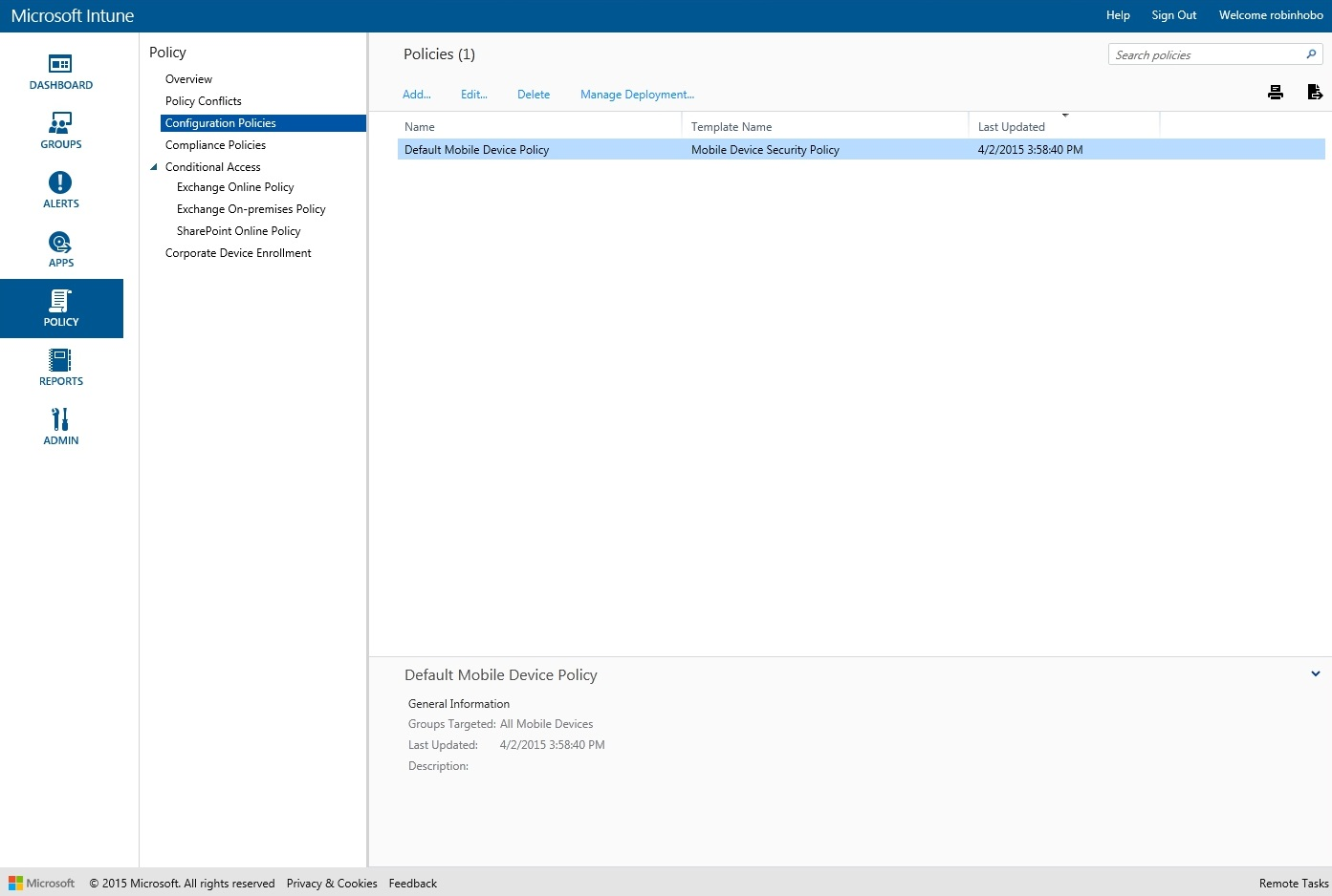 How to setup Microsoft Intune 038
