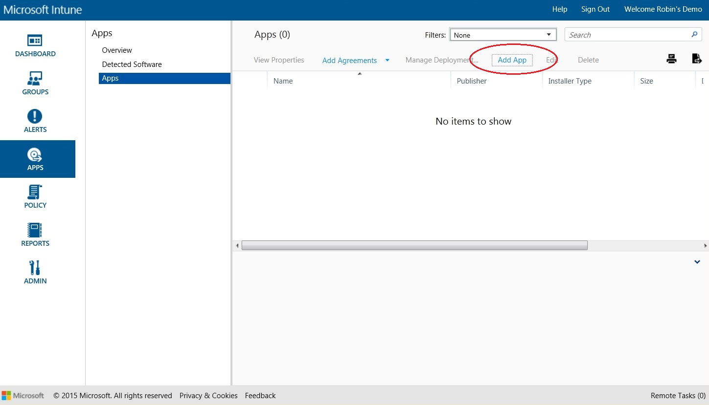 How to setup Microsoft Intune 050