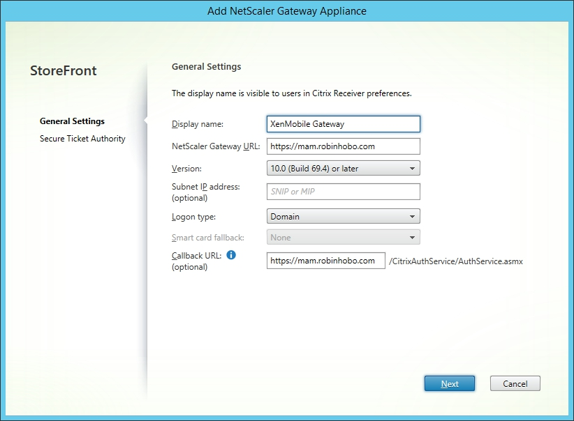 How to integrate Citrix XenApp / XenDesktop with Citrix XenMobile 10.x 005