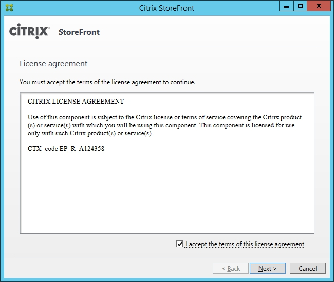 Installing and Configuring Citrix Storefront 3.0 002