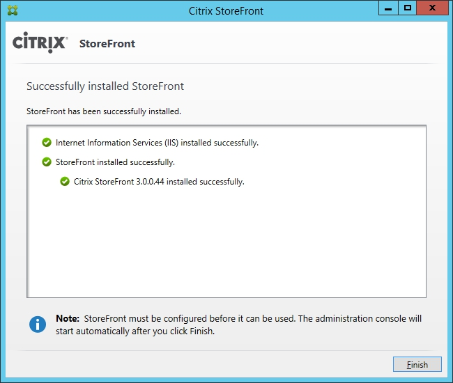 Installing and Configuring Citrix Storefront 3.0 005