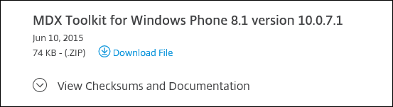 Wrapping and Deploying Windows Phone 8.1 Apps with Citrix XenMobile 10.x 002