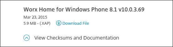 Wrapping and Deploying Windows Phone 8.1 Apps with Citrix XenMobile 10.x 003