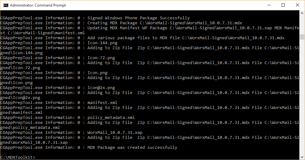 Wrapping and Deploying Windows Phone 8.1 Apps with Citrix XenMobile 10.x 005