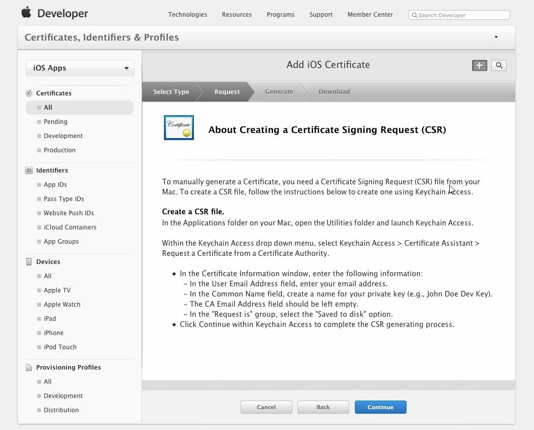 Apple Developer Account Setup 005
