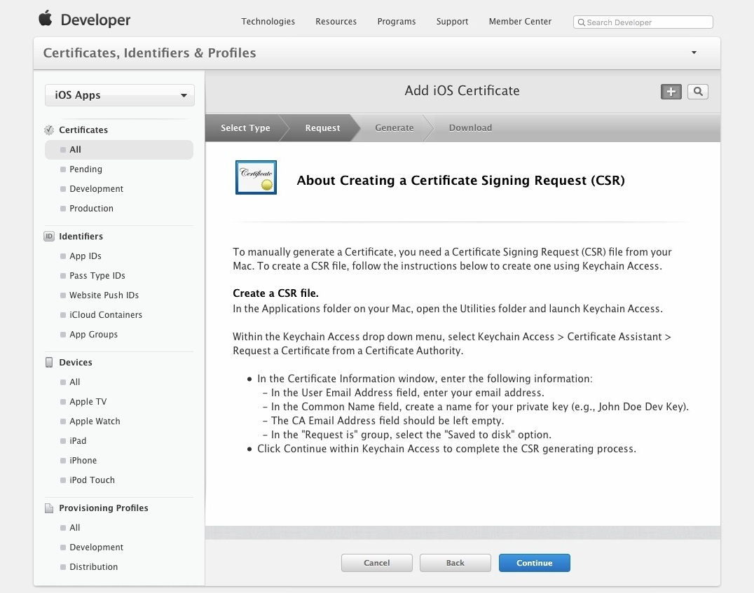 Apple Developer Account Setup 009