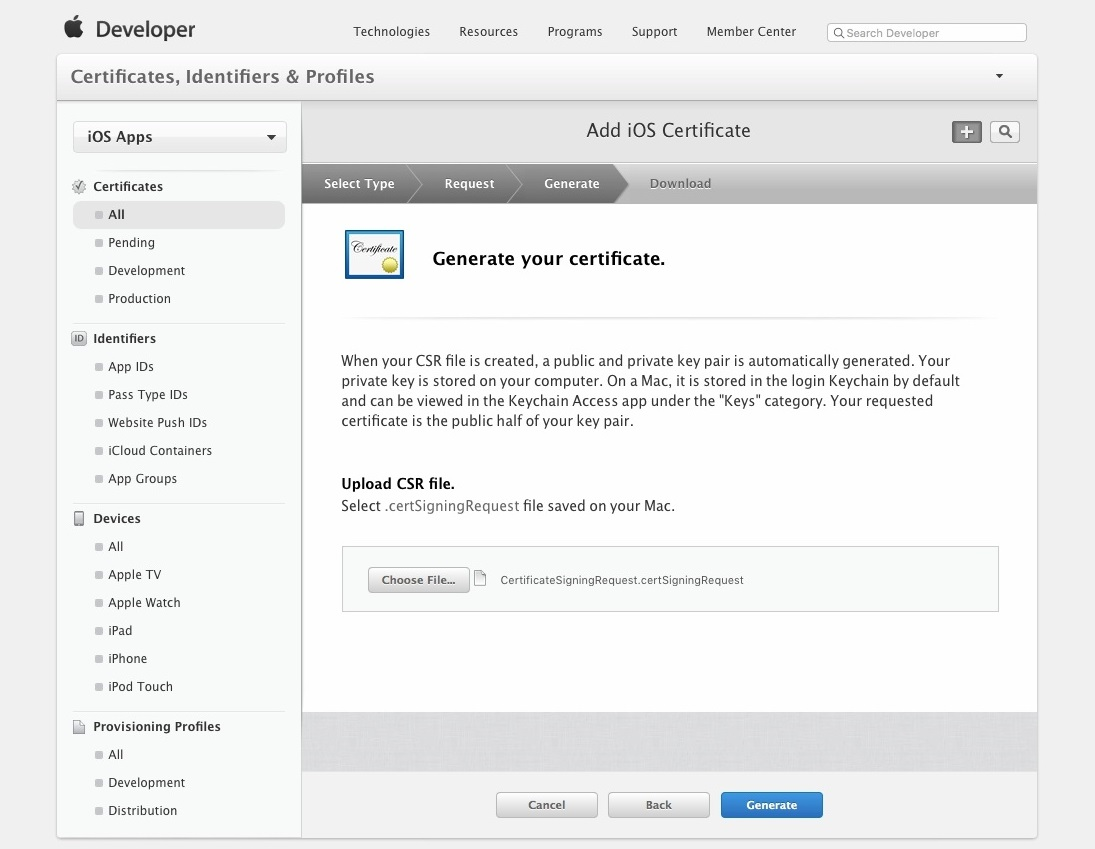 Apple Developer Account Setup 010