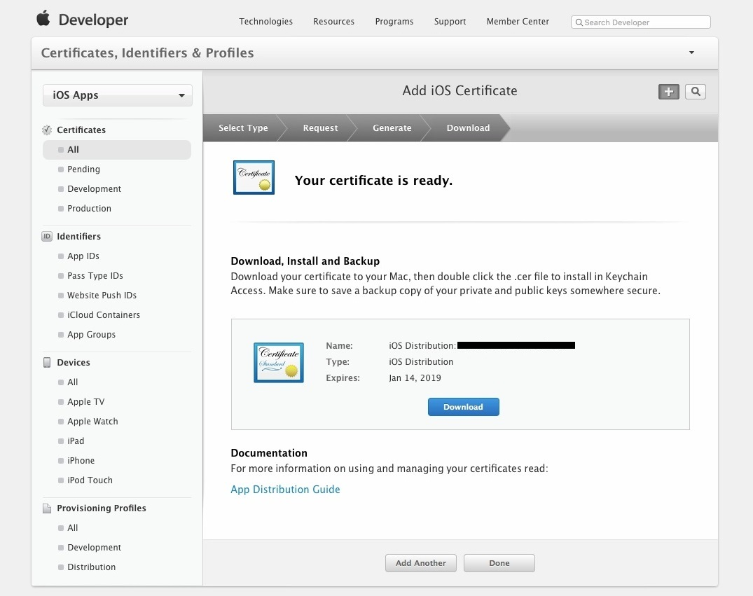 Apple Developer Account Setup 011-a