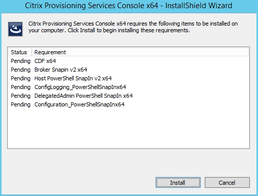 Installing and Configuring Citrix Provisioning Services 7.7 - 001