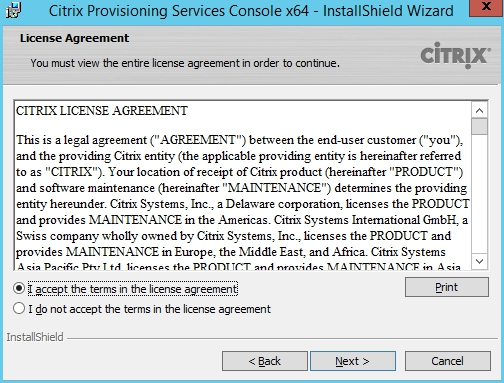 Installing and Configuring Citrix Provisioning Services 7.7 - 003
