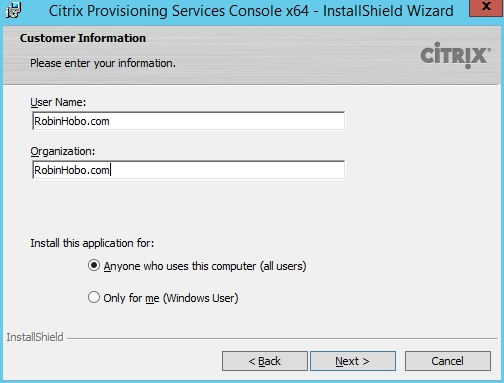 Installing and Configuring Citrix Provisioning Services 7.7 - 004