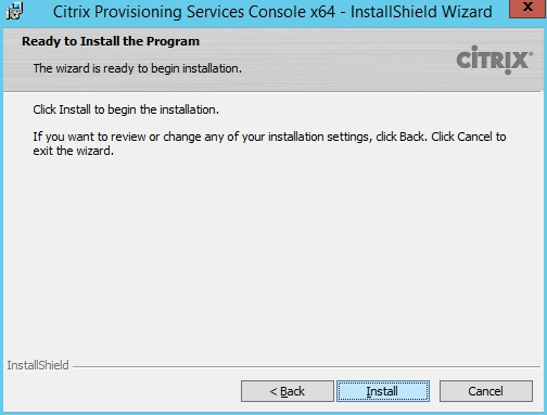 Installing and Configuring Citrix Provisioning Services 7.7 - 006