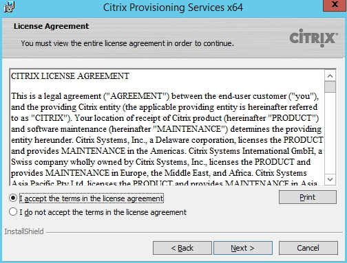 Installing and Configuring Citrix Provisioning Services 7.7 - 011