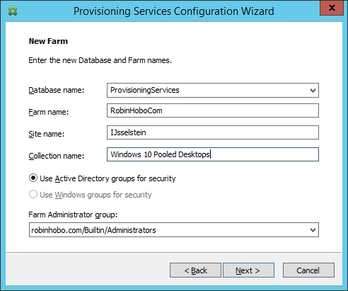 Installing and Configuring Citrix Provisioning Services 7.7 - 021