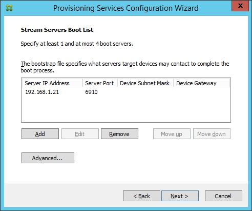 Installing and Configuring Citrix Provisioning Services 7.7 - 028
