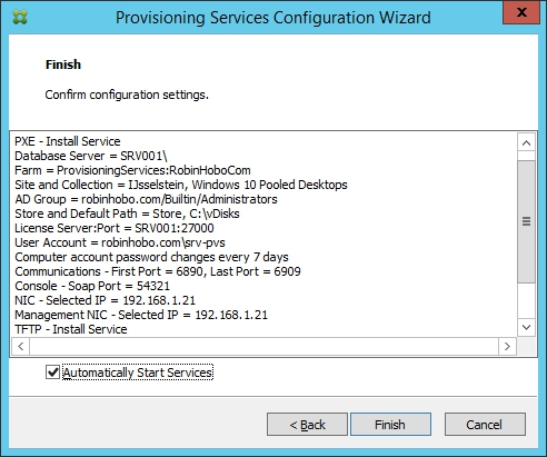 Installing and Configuring Citrix Provisioning Services 7.7 - 029