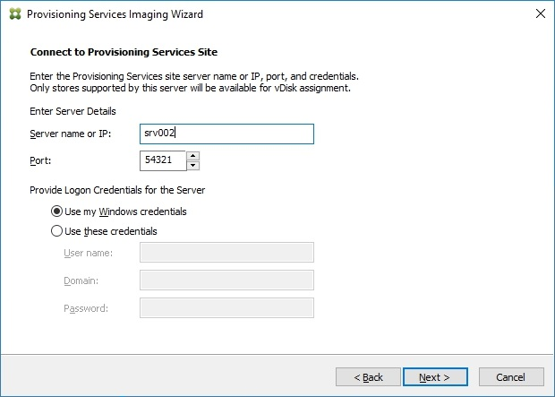 Installing and Configuring Citrix Provisioning Services 7.7 - 042