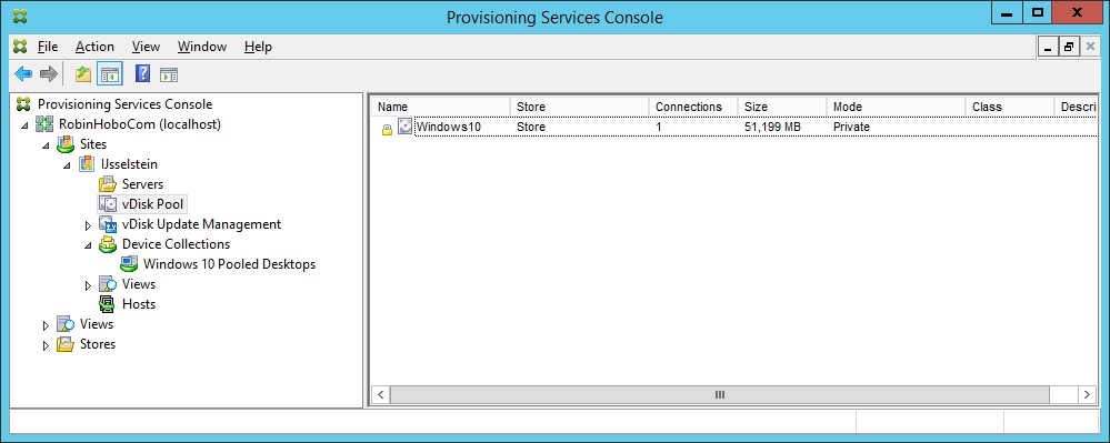 Installing and Configuring Citrix Provisioning Services 7.7 - 054