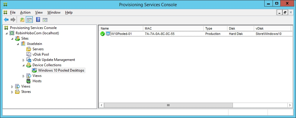Installing and Configuring Citrix Provisioning Services 7.7 - 056