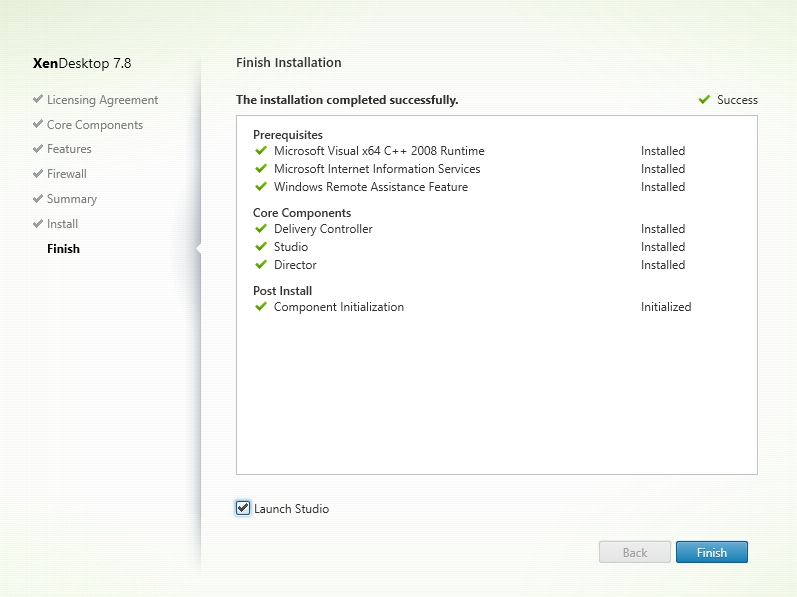 Installing and Configuring Citrix XenDesktop 7.8 - 008