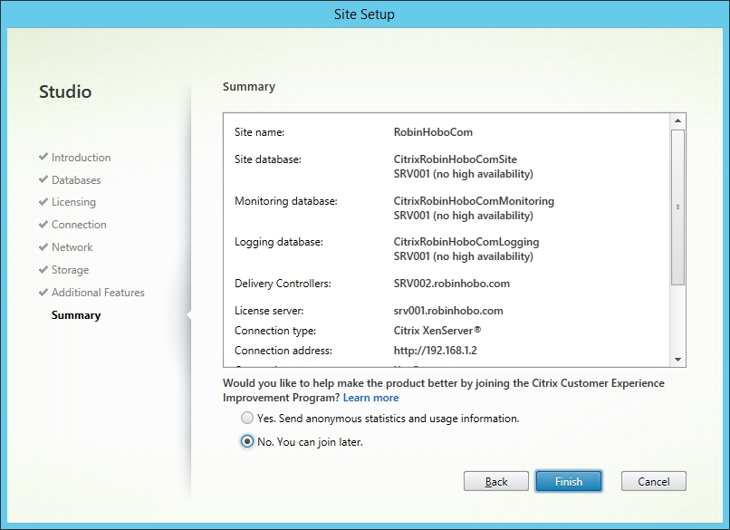 Installing and Configuring Citrix XenDesktop 7.8 - 017