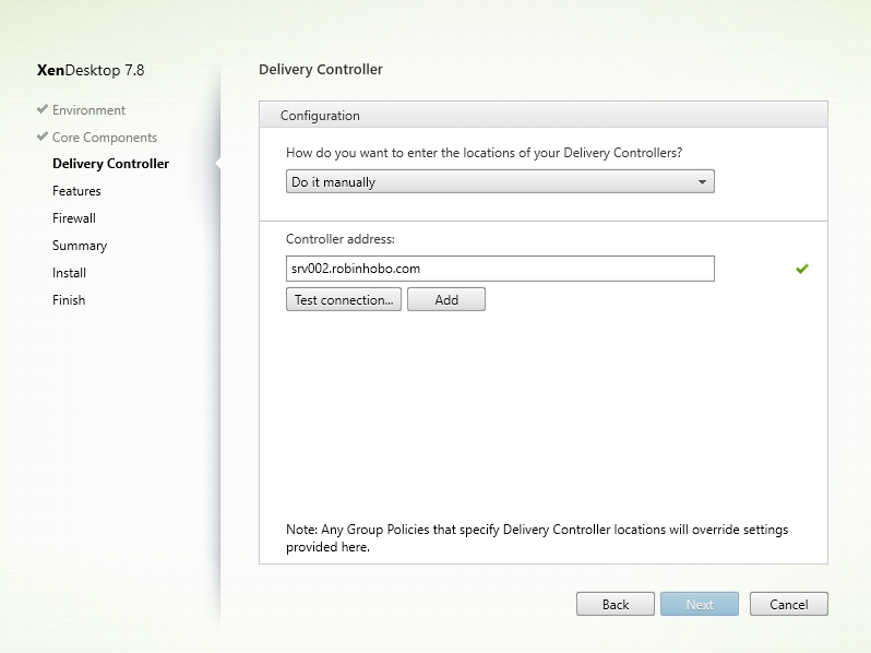 Installing and Configuring Citrix XenDesktop 7.8 - 022