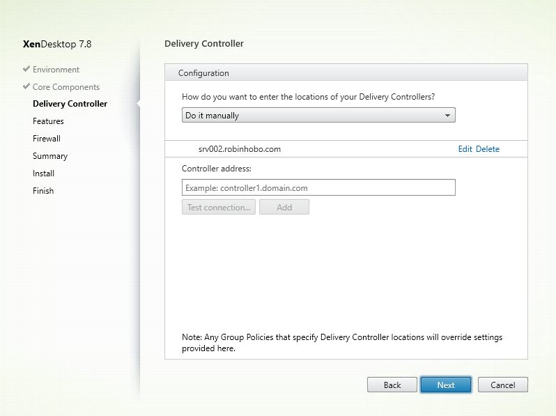 Installing and Configuring Citrix XenDesktop 7.8 - 023