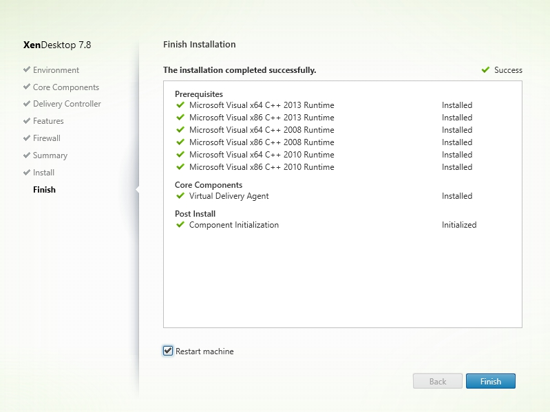 Installing and Configuring Citrix XenDesktop 7.8 - 027