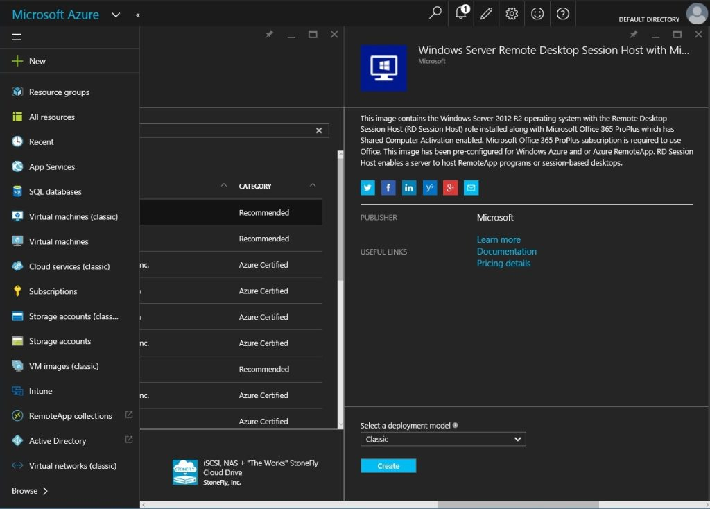 How to setup Microsoft Azure RemoteApp with a custom image 09