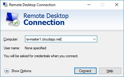 How to setup Microsoft Azure RemoteApp with a custom image 20