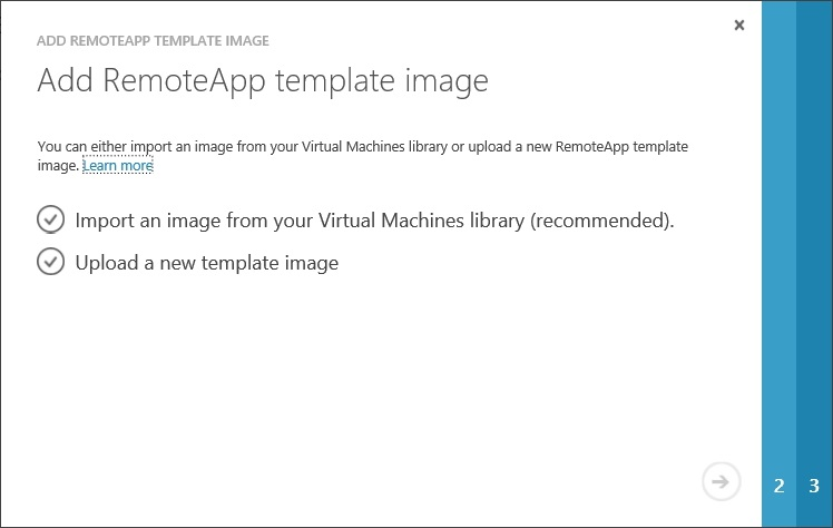 How to setup Microsoft Azure RemoteApp with a custom image 30