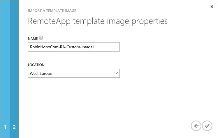 How to setup Microsoft Azure RemoteApp with a custom image 32