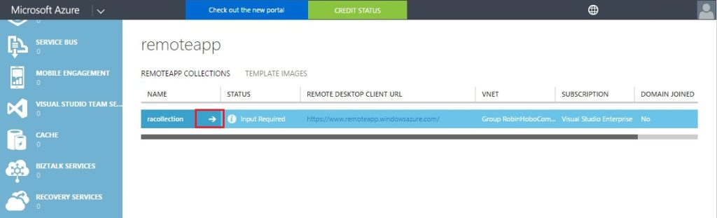 How to setup Microsoft Azure RemoteApp with a custom image 36