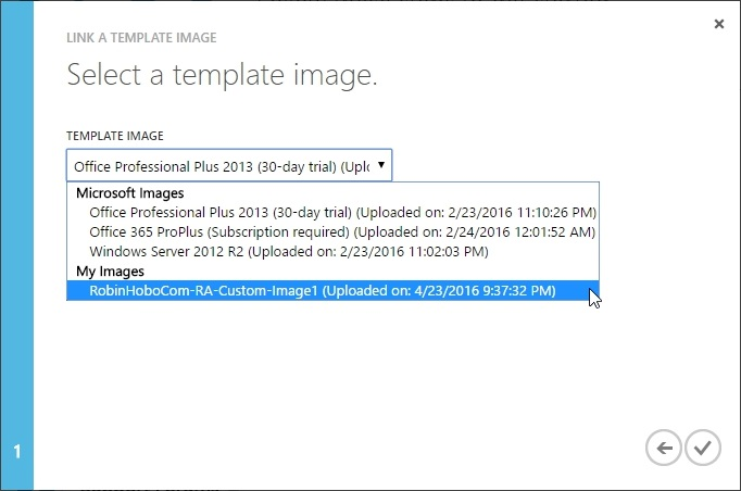 How to setup Microsoft Azure RemoteApp with a custom image 39