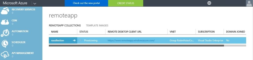 How to setup Microsoft Azure RemoteApp with a custom image 41