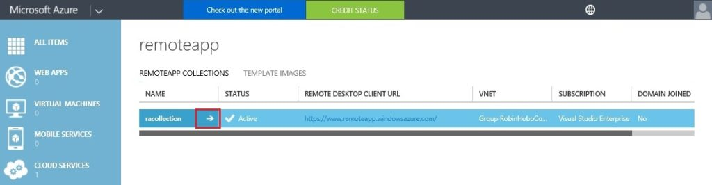 How to setup Microsoft Azure RemoteApp with a custom image 42