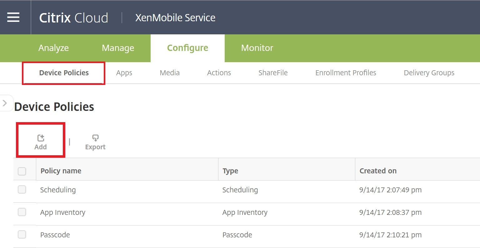 How to integrate Citrix XenMobile with Azure AD for auto
