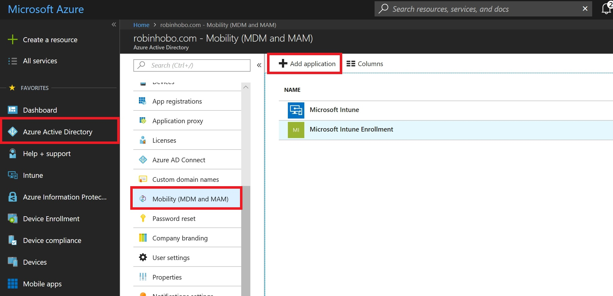 How to integrate Citrix XenMobile with Azure AD for auto enrollment