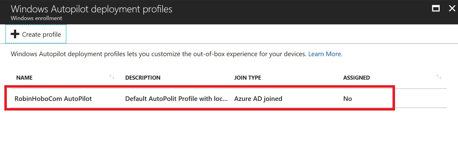 How to setup Windows AutoPilot and add existing devices the