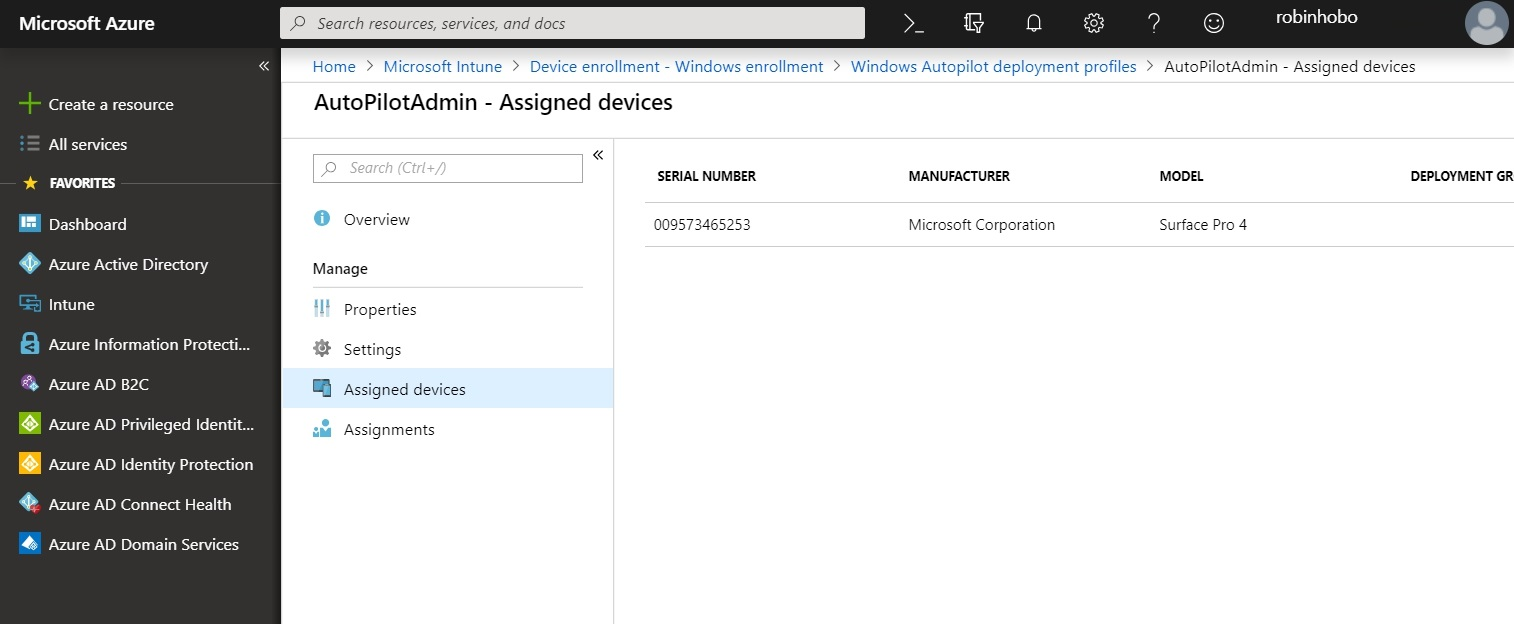 Automatic add existing Windows 10 devices to Windows AutoPilot